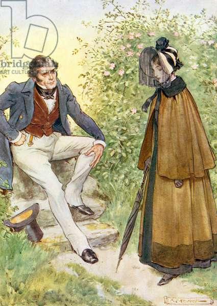 Rochester et Jane Eyre