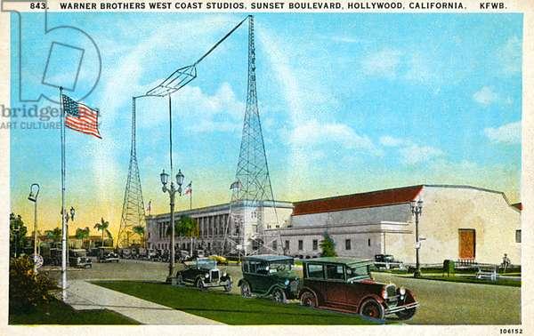 Warner Brothers Studios, Sunset Boulevard, Hollywood, USA