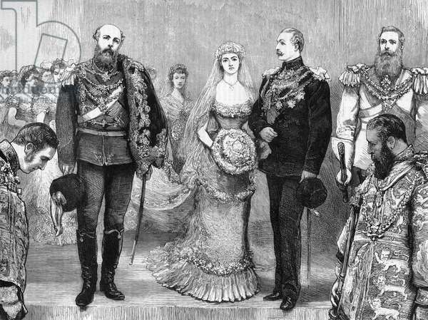 PRINCE ARTHUR WEDS 1879