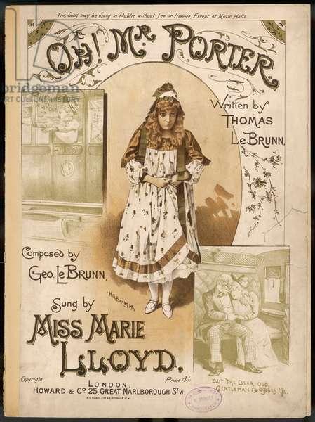 MARIE LLOYD/OH MR PORTER