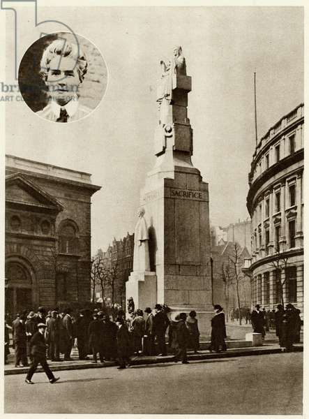 Edith Cavell and his memorial
