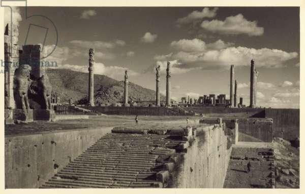 The ruins of Persepolis, Iran