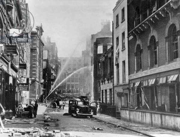 Blitz in London