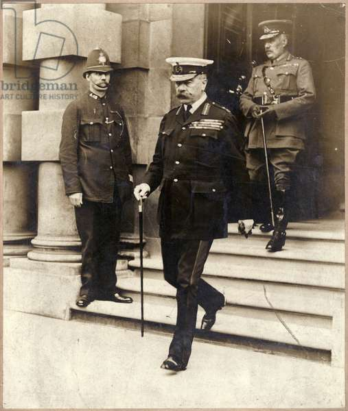 Kitchener as war minister: one of his last public acts, 1916