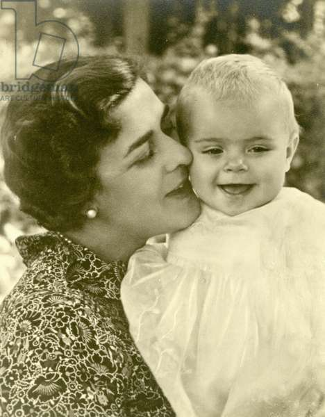 Princess Margarita of Greece with Princess Beatrix