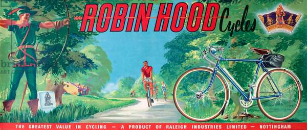 Poster, Robin Hood Cycles