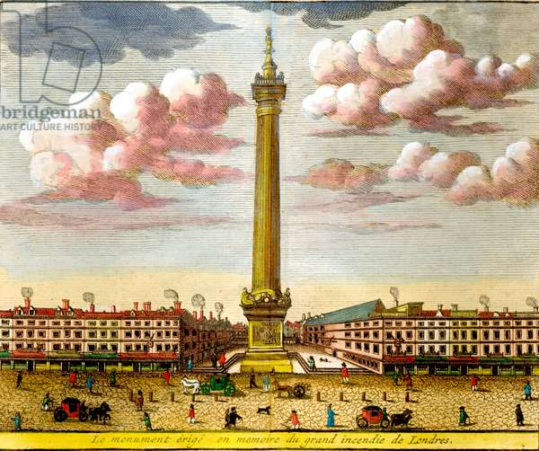 Monument of the Great Fire, London