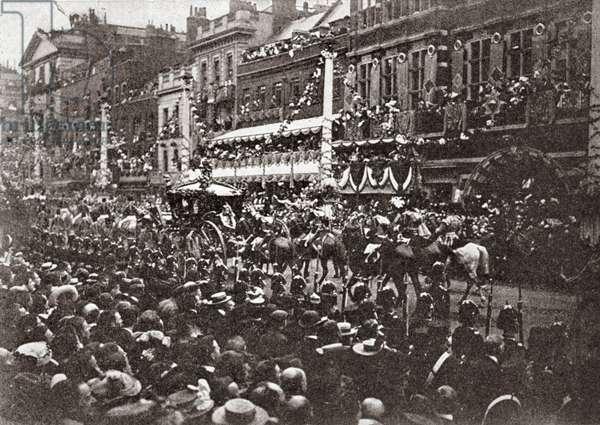 Edward VII Coronation, St James Street, London