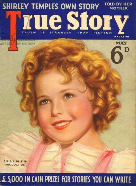 American child star, Shirley Temple