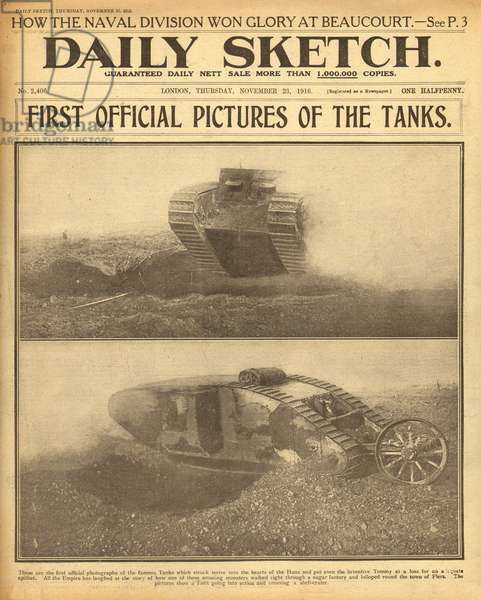 Tanks on the Western Front, WW1
