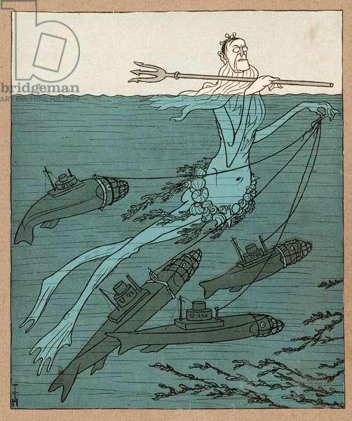 WILSON DREAMS OF U-BOATS