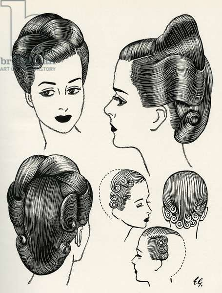 Classical style of the 1940s