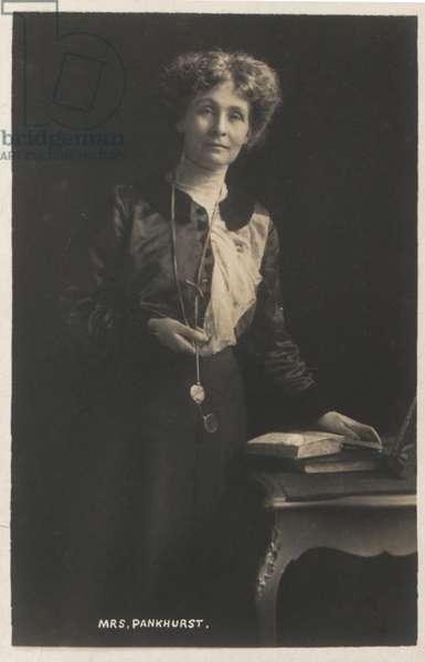 Emmeline Pankhurst Founder W.S.P.U