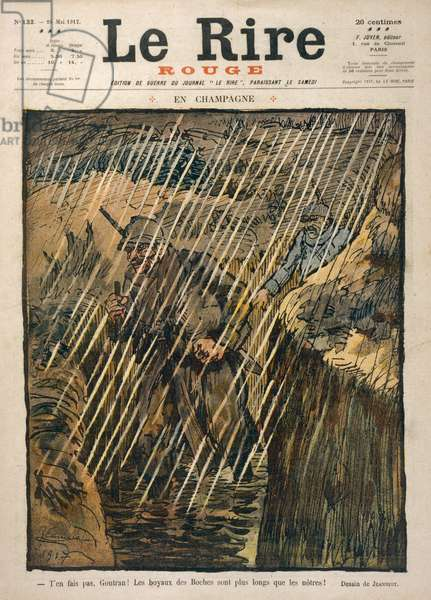 RAINY DAY IN TRENCHES