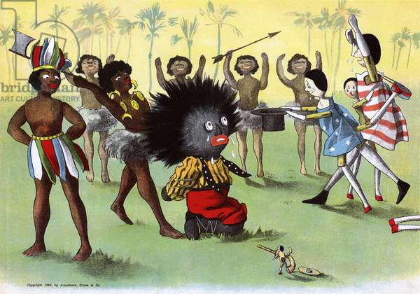 The Golliwogg's Bicycle Club - Captured by Cannibals