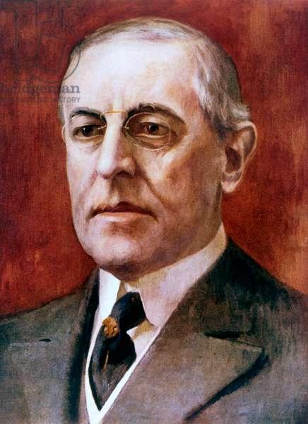Thomas Woodrow Wilson, American President