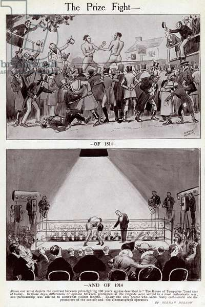 The Prize Fight, 1814 and 1914