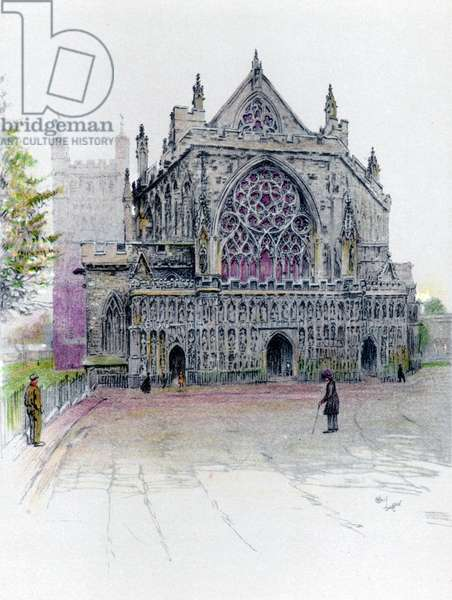 Cathedrale Saint Pierre a Exeter