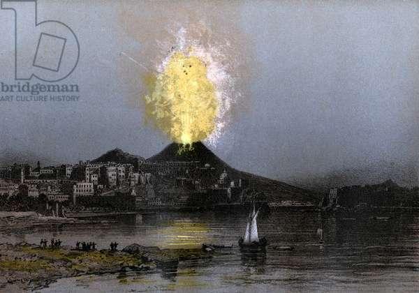 Vesuve eruption