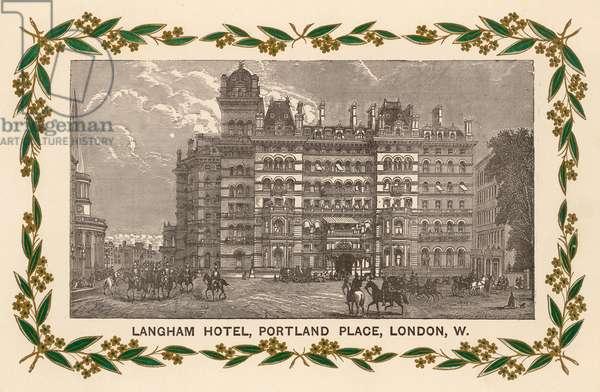 LANGHAM HOTEL,LONDON