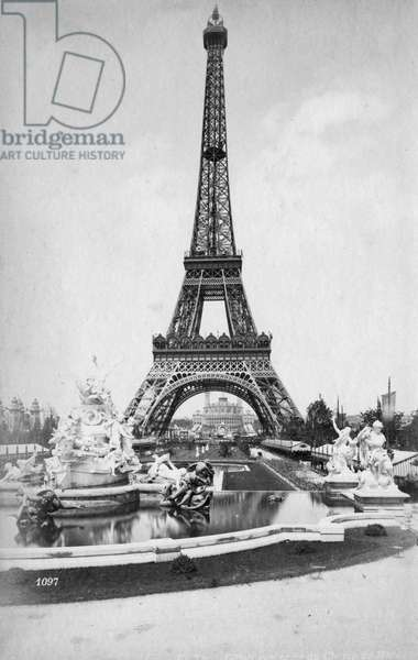 PARIS/EIFFEL TOWER C1889