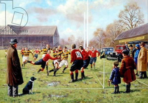 Going For The Line, Rugby