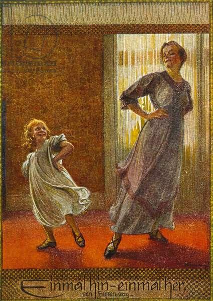 GIRL/MOTHER DANCING 20C