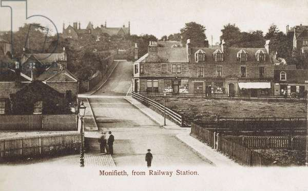 Monifieth from the Railway Station, Scotland