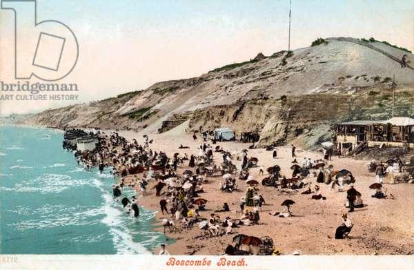 Bournemouth. Boscombe Beach