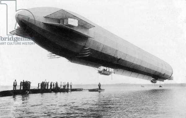 Envol du 1er Zeppelin