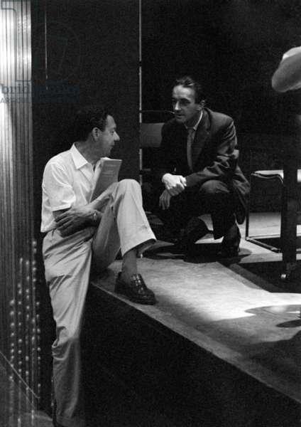 Benjamin Britten and George Malcolm