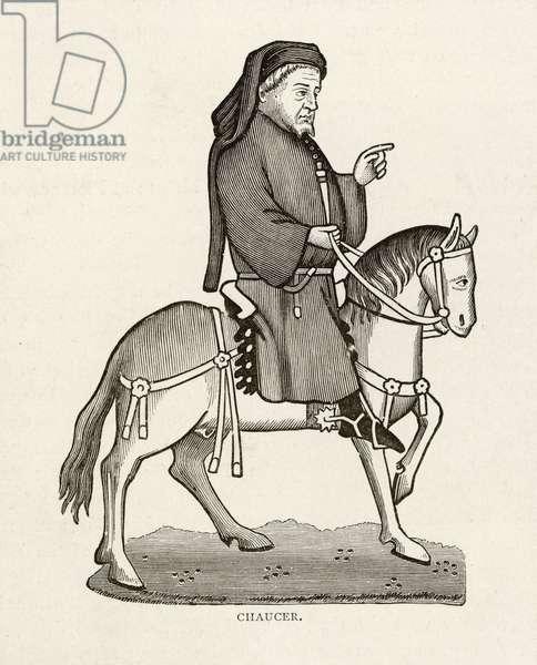 CHAUCER/HORSE/CANTERBURY