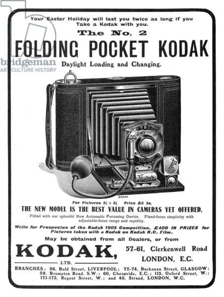 FOLDING POCKET KODAK