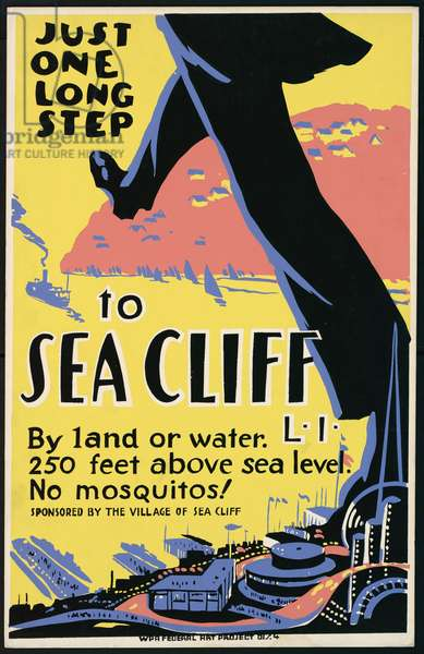 Just one long step to Sea Cliff, LI By land or water : 250 f