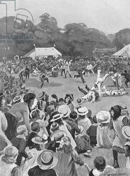 Children's Coronation Fete in Victoria Park, 1902
