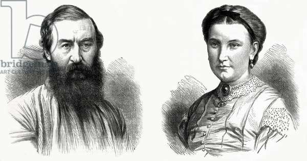 Sir Samuel White Baker and Lady Florence Baker