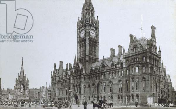 Town Hall, Manchester,Greater Manchester, England