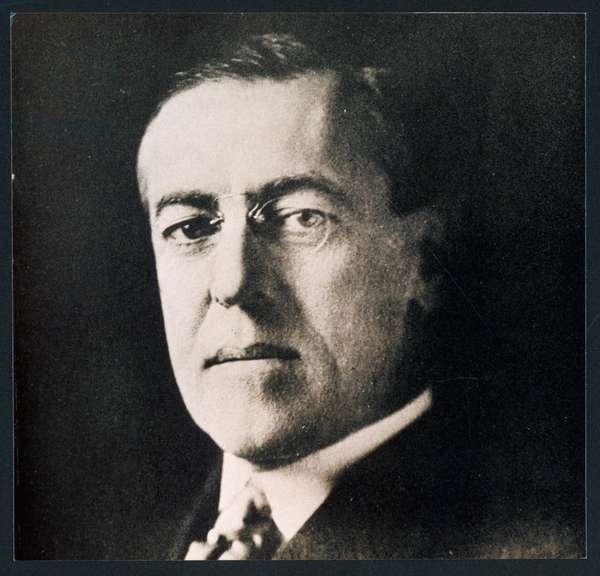 WOODROW WILSON/1918 PHOT