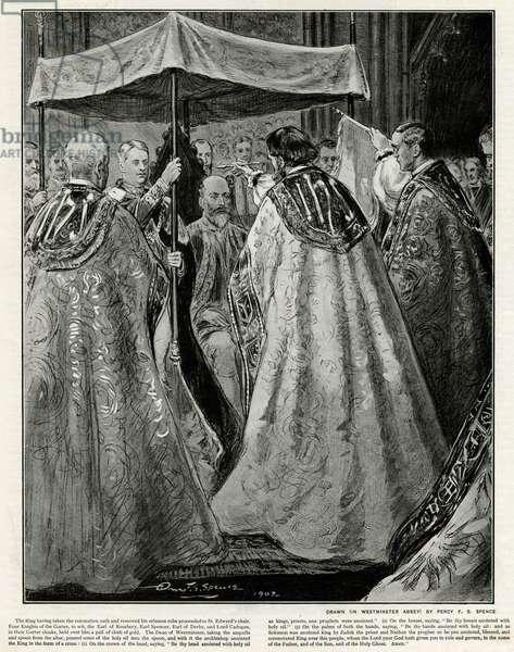 Coronation of Edward VII ceremony of atonement