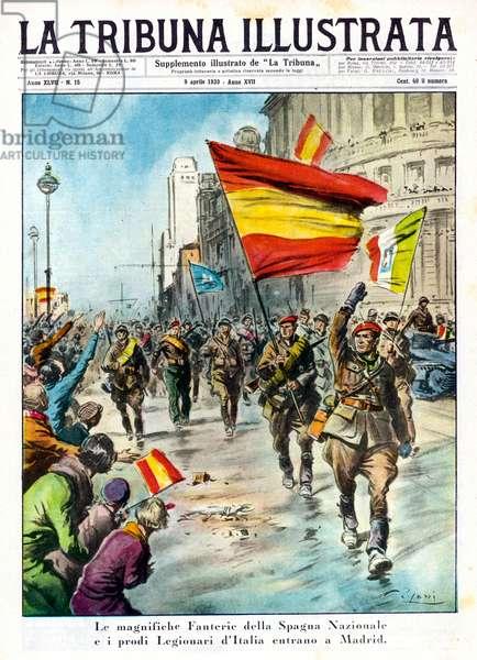 Spanish War: Nationalists enter Madrid