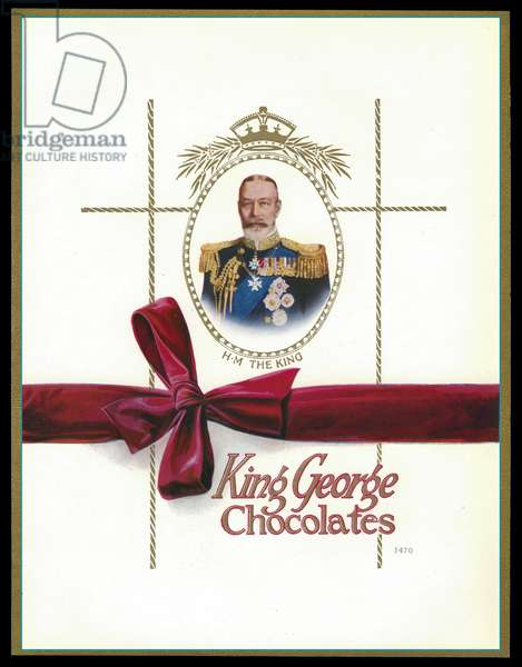Chocolate box design, King George V