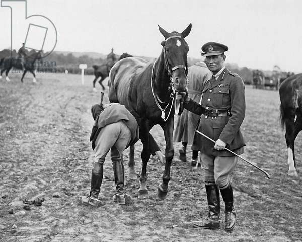 New Zealand Division horse show, Western Front, WW1