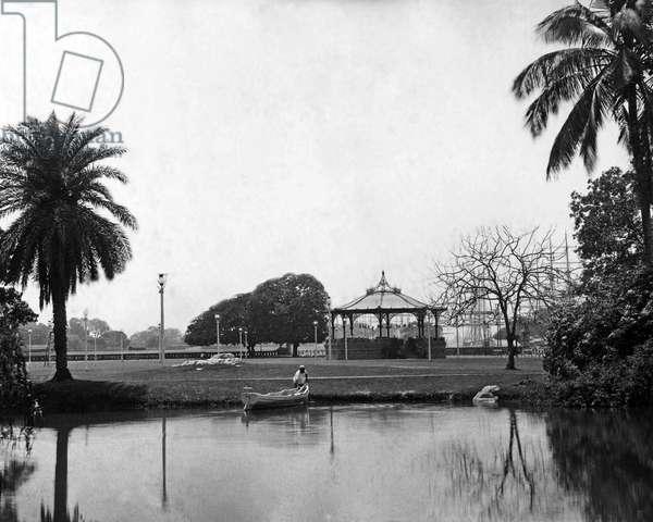 Eden Gardens, Calcutta, India