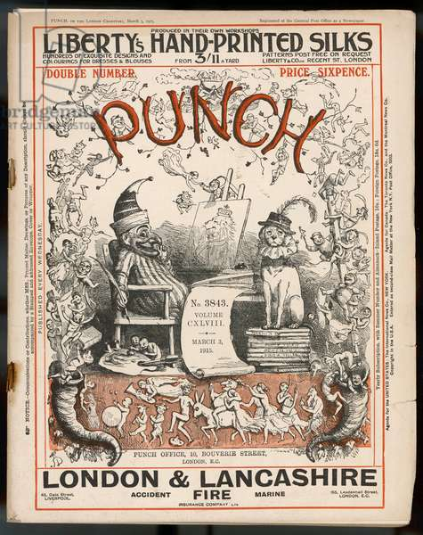 PUNCH COVER 1915 DOYLE