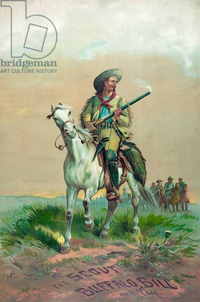 The scout Buffalo Bill. Hon. W.F. Cody