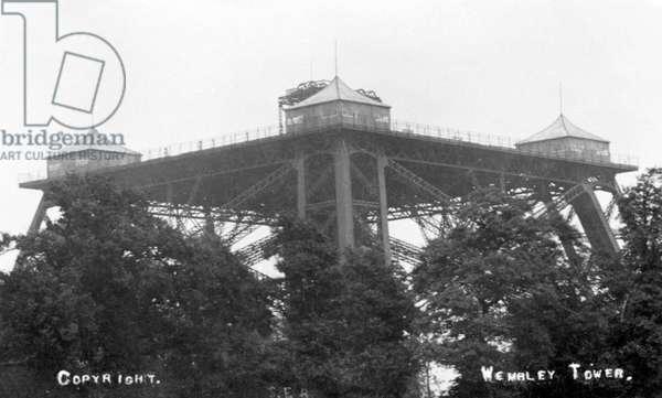Wembley Park Tower under construction