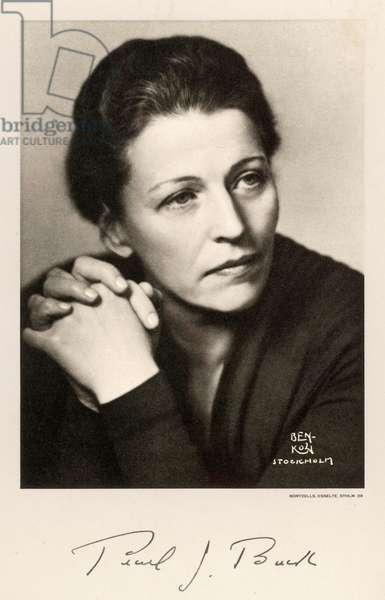 PEARL BUCK/NOBEL 1938
