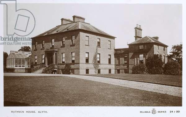 Ruthven House, Alyth, Scotland