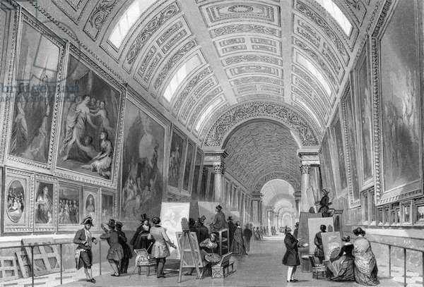 COPYISTS IN THE LOUVRE