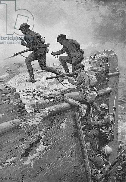 New Zealand troops storm Le Quesnoy